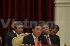 东盟分别与对话伙伴举行外长会议