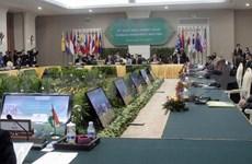 第二届东亚峰会外长会在柬埔寨首都金边召开