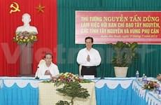 阮晋勇总理出席西原地区指导委员会成立10周年纪念仪式