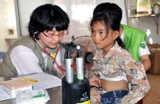 为广义省李山县岛贫困者提供免费诊疗服务