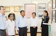 老挝国家副主席本扬·沃拉吉一行探访宣光省
