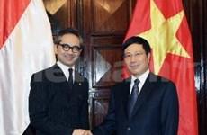越南与印度尼西亚双边合作委员会首次召开会议