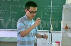 2012年国际化学奥林匹克竞赛:越南代表队获丰收