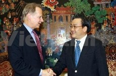 越美高度重视两国经贸合作关系