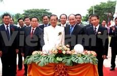 越南协助老挝琅南塔省兴建高中学校