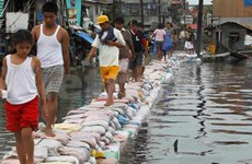 """热带风暴""""启德""""造成菲律宾7人死亡"""