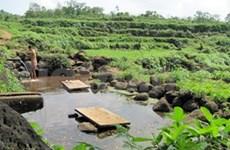 越南广治省教林教安古井系统严重损坏