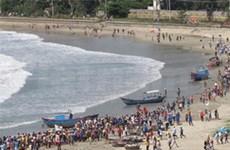 越南广义省举行应对海啸演习