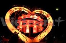 响应2012年国家遗产旅游年广南省举行会安古镇晚会