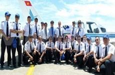 越南首个民航飞行员培训中心正式成立