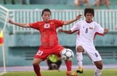 越南队进入2012年东南亚女子足球锦标赛总决赛