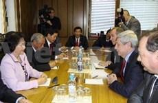 越南国会与俄罗斯联邦议会加强合作