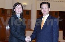 越南政府总理会见匈牙利新任驻越大使