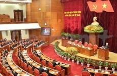 越共第十一届中央委员会第六次全体会议闭幕