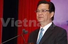 越南政府总理阮晋勇与胡志明市国家大学选民接触