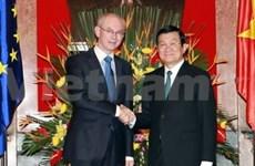 越南希望与欧洲理事会加强多方面的合作