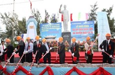 越南广宁省姑苏岛县输电项目正式启动