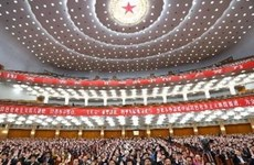中国共产党第十八次全国代表大会隆重开幕