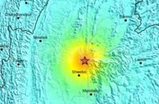 缅甸一日发生两次地震至少13人死亡