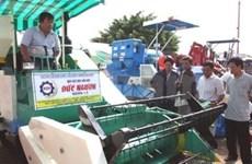 2012年国际农业展览会在芹苴市开幕