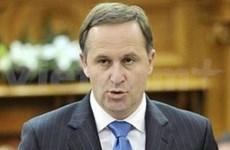 阮晋勇总理会见新西兰总理