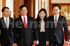 越南政府总理:越南愿意同韩国和马来西亚家强合作关系