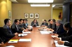 越南最高人民法院院长张和平访问加拿大