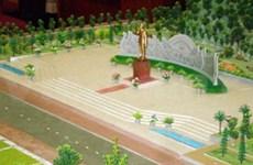 嘉莱省胡伯伯塑像工程正式落成