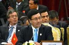 越南外长:越韩全面合作关系将日益蓬勃且朝着深广方向发展