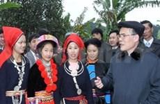 越南国会主席阮生雄视察北件省