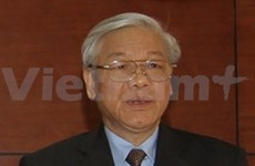 阮富仲总书记对比利时王国和欧洲理事会进行正式访问