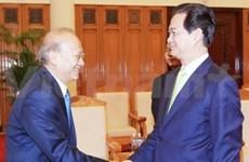 阮晋勇总理会见柬埔寨司法部大臣