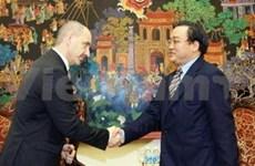 黄忠海副总理会见捷克贸工部长
