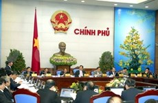越南政府召开1月份例行会议