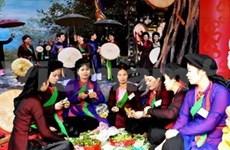 2013年佛迹寺庙会与林庙会保持民族传统特色