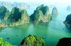 越南世界文化遗产:龙下海的地方--下龙湾
