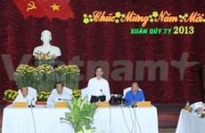 越南政府总理阮晋勇在平顺省指导工作