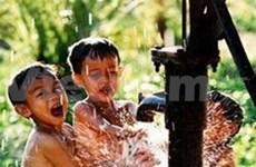 越南力争到2015年85%农村居民能使用清洁水