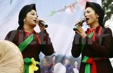 《回归官贺之地》艺术晚会弘扬北宁官贺民歌价值