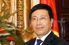 外交部长范平明即将出访卡塔尔和法国