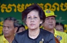 柬埔寨公主当选为奉辛比克党(FUNCINPEC)主席