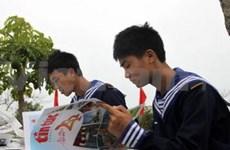 阮氏缘副主席出席白龙尾岛县成立20周年纪念仪式