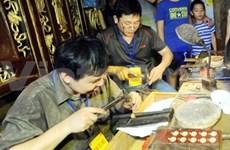 越南河内古街金环手工艺品节颇受欢迎