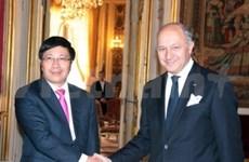 越南与法国面向战略伙伴关系