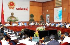 越南政府召开3月份例行会议