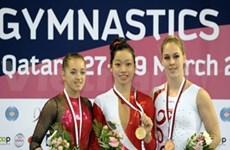 2013年体操世界杯多哈站:潘氏河清夺金牌