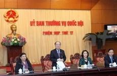 第十三届越南国会常务委员会召开第17次会议