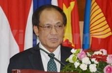 东盟秘书长:东盟坚持到2015年建成共同体的目标