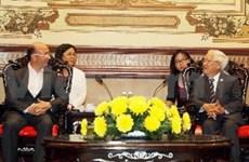 胡志明市与瓦隆·布鲁塞尔大区合作潜力巨大
