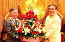 越南领导人祝贺老挝传统新年